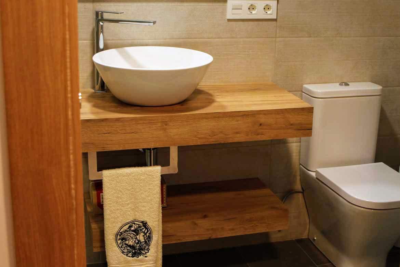 baño apartamento Artzaia