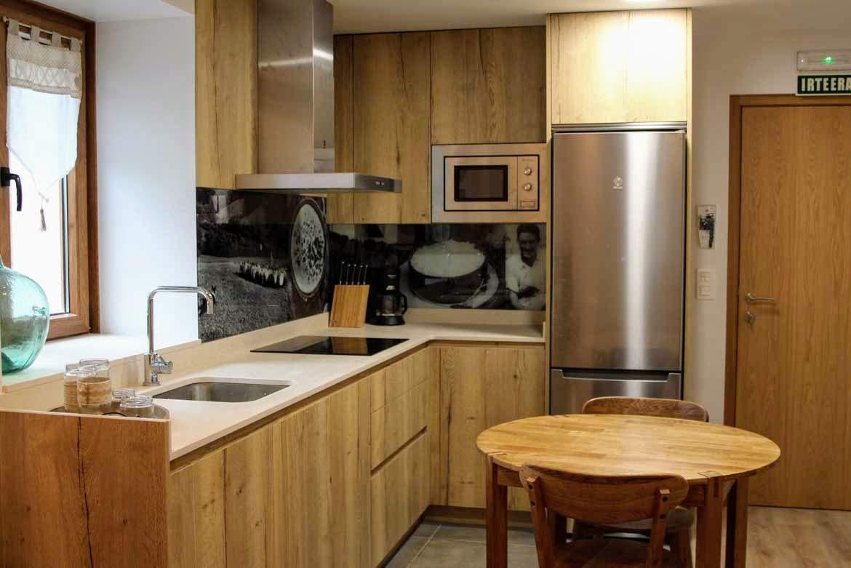 cocina apartamento Artzaia